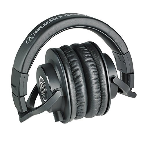 audio-technica ath-m40x auriculares profesionales de estudio
