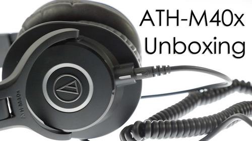 audio technica ath-m40x fone estúdio headphone - promoção!
