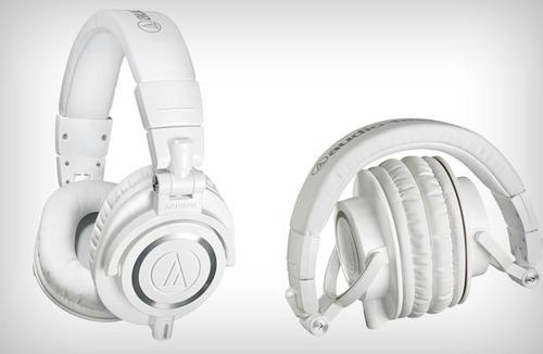 audio-technica ath-m50x white - audífonos profesionales