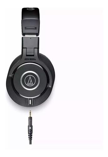 audio technica fone ath-m40x - headphones profissional