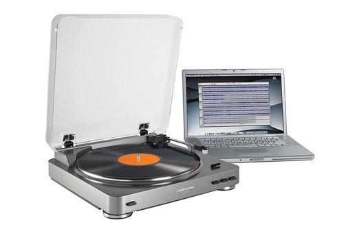 audio technica lp60 usb bandeja giradiscos + a lab lite 3