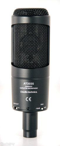 audio technica micrófono condensador