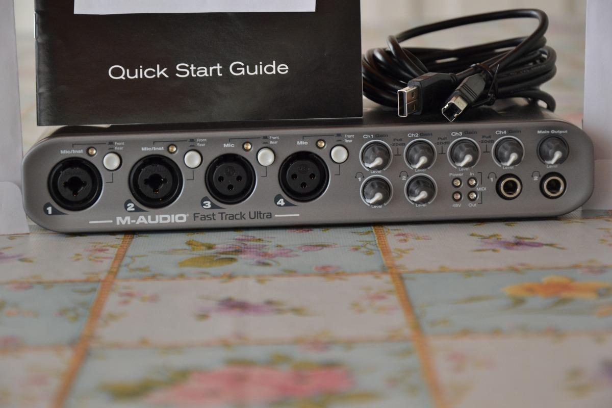 m audio fast track manual