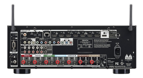 audio video amplificador
