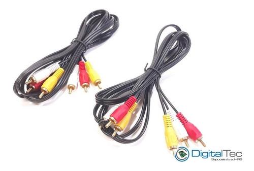 audio vídeo cabos