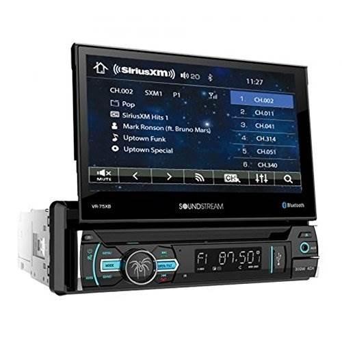 audio y video del auto soundstream vr-75xb