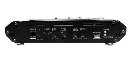 audiobahn open show amplificador 1 ohm clase d bajeo nitido