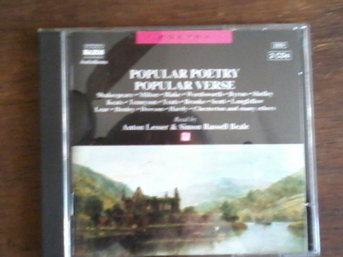 audiobook popular poetry, popular verse
