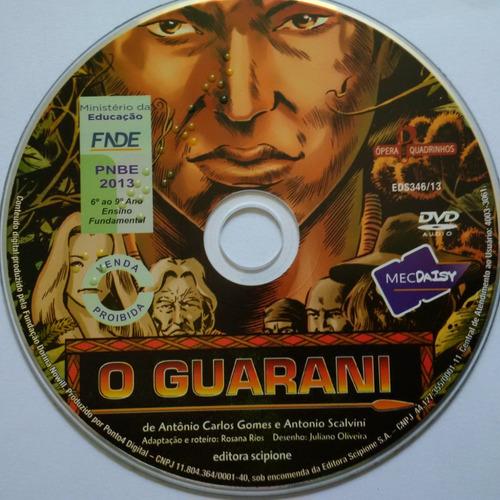 audiolivro o guarani - coleção ópera em quadrinhos original
