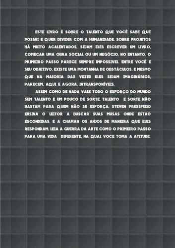 audiolivro + pdf - a guerra da arte - steven pressfield