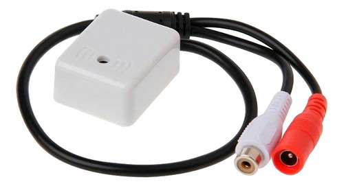 audiomonitoring quadrado para cftv câmera dvr