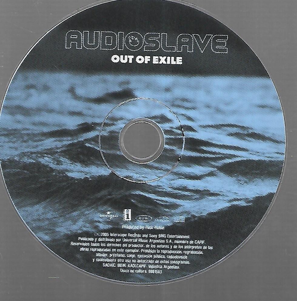 cd audioslave 2005