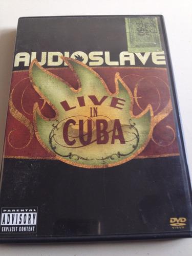 audioslave live in cuba dvd usado nacional