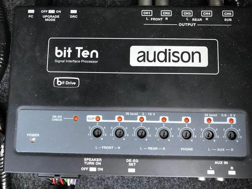 audison bit ten + rcas sonus + cabos sq