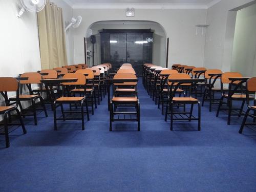auditorio primer piso, zona céntrica, equipado