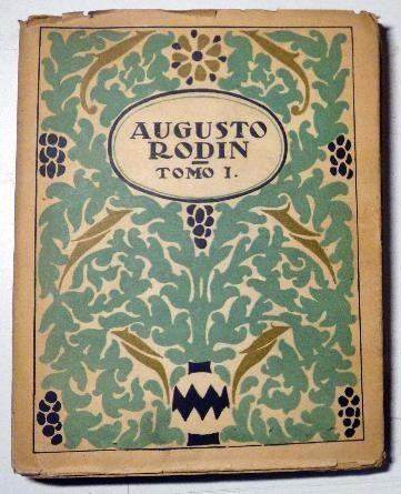 augusto rodin -  monografías del arte. 26 obras de arte,1950