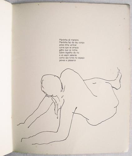 augusto rodrigues, com  desenho autografado 80