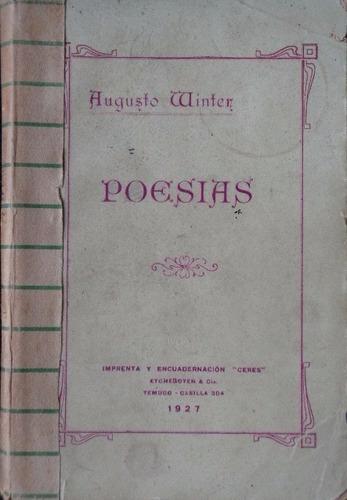 augusto winter poesias 1927 dedicado