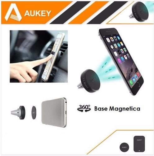 aukey 360 soporte universal de celulares para carro