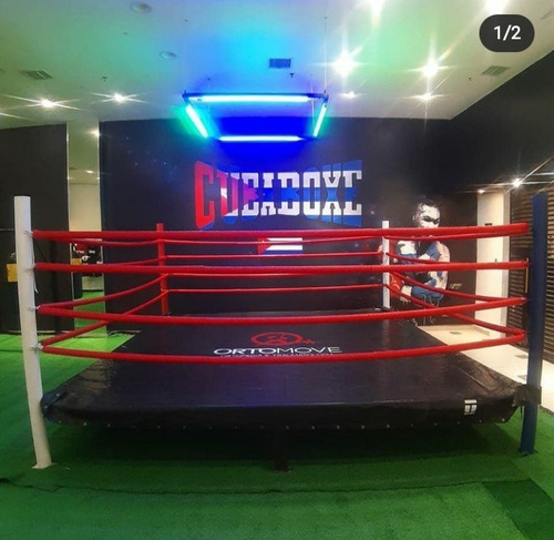 aula de boxe