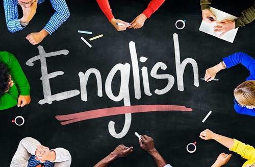 aula de inglês