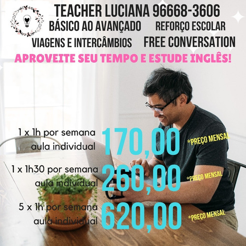 aula de inglês online