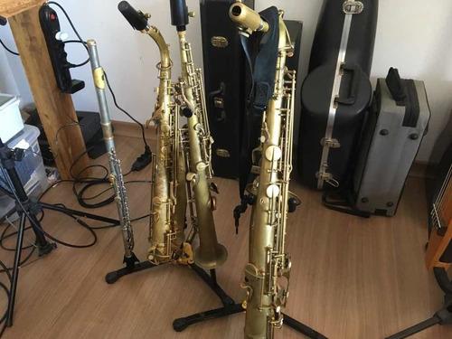 aula de saxofone e flauta transversal on line