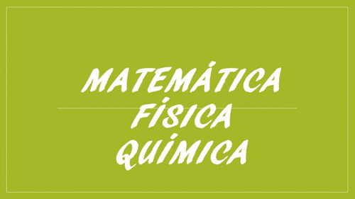 aula particular de física, química e matemática 1º e 2º grau