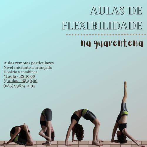 aula particular de flexibilidade (promoção!)