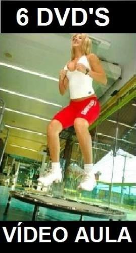 aulas de aero jump - curso em 6 dvds is6