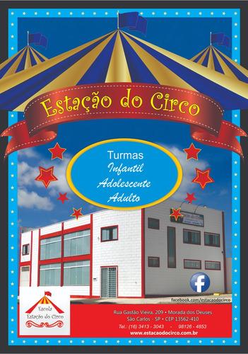 aulas de circo para todos os públicos em são carlos sp