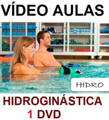 aulas de hidroginástica - curso em 1 dvd yb7