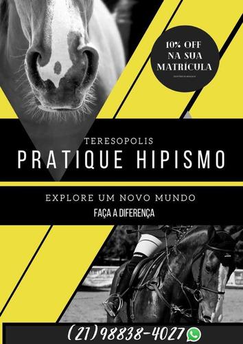 aulas de hipismo para todas as idades em teresópolis