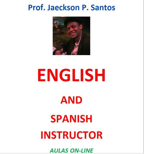 aulas de inglês ou espanhol particulares