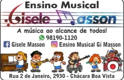 aulas de música particulares e individuais.