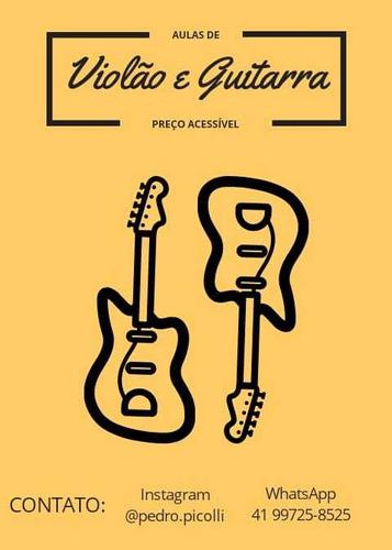 aulas de música (violão e guitarra)