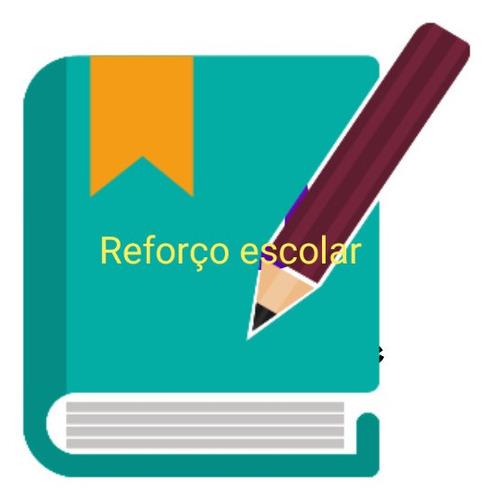 aulas de reforço escolar alfabetização e letramento