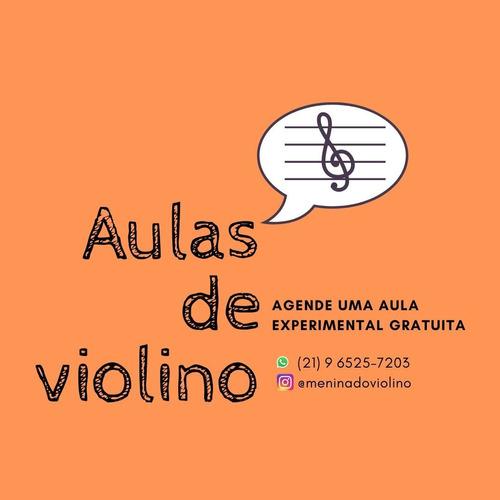 aulas de violino e teoria musical presencial e online