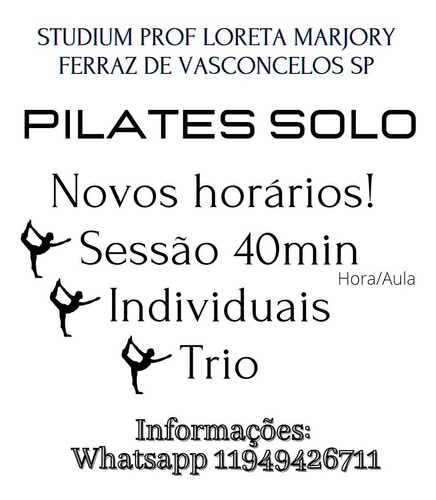 aulas online de pilates