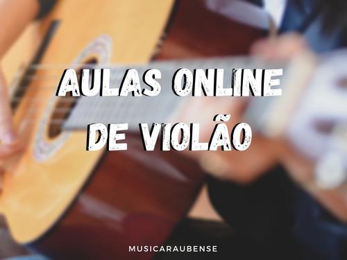 aulas online de violão popular nível básico