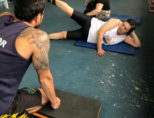 aulas particulares de exercícios físicos em casa
