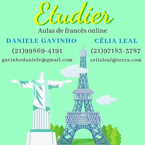 aulas particulares de francês on line