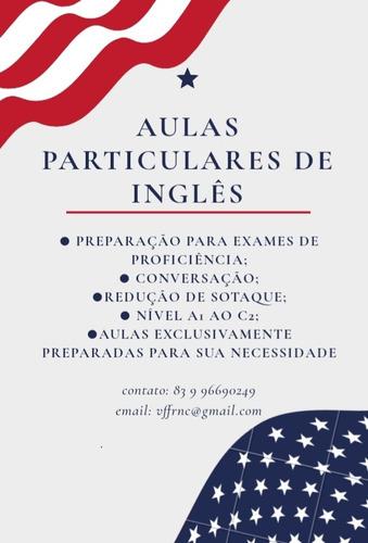 aulas particulares de inglês via web