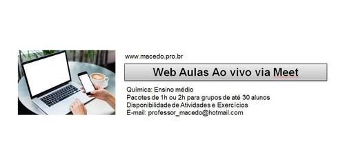 aulas particulares via web ( ao vivo)