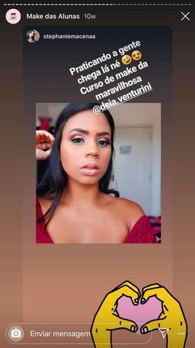 aulas pela web de maquiagens (makeup)