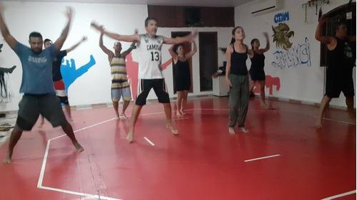 aulas personal de funcional e artes marciais