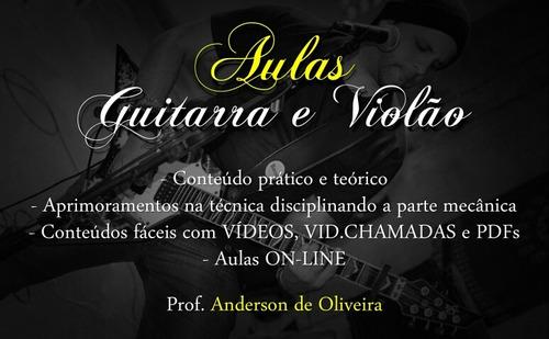 aulas práticas e teóricas de guitarra