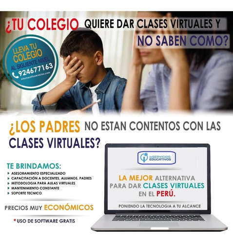 aulas virtuales para su institución educativa