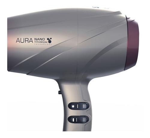 aura nano titanium 2300w ga.ma italy - secador de cabelo 127v