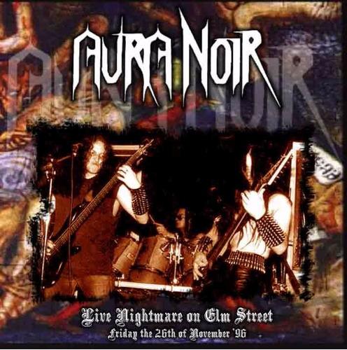 aura noir live nightmare on elm street cd black thrash metal